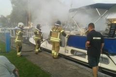 Brandweeroefening Jachthaven De Oude Horn