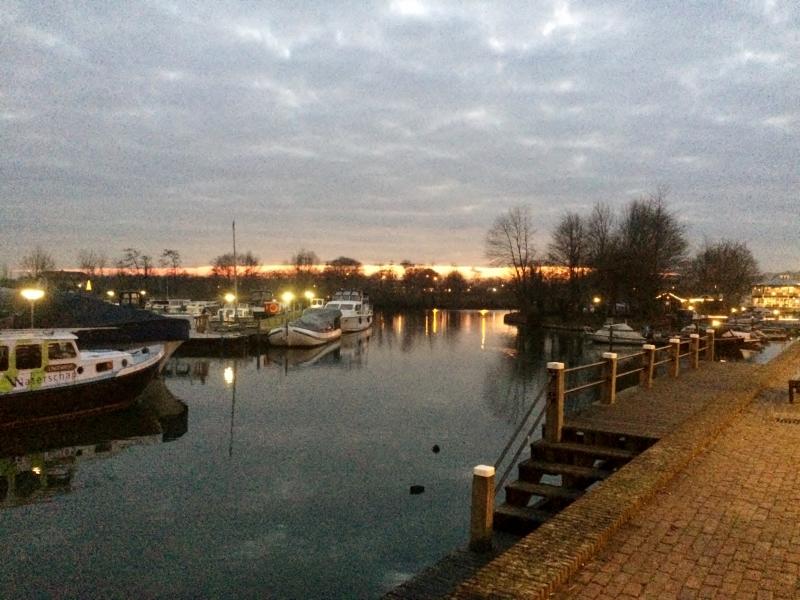 Zonsondergang Passantenhaven